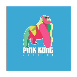 Logo Pink Kong Animation studio Dublin Ireland