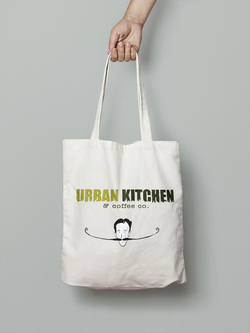 Logo Design Tote Bag